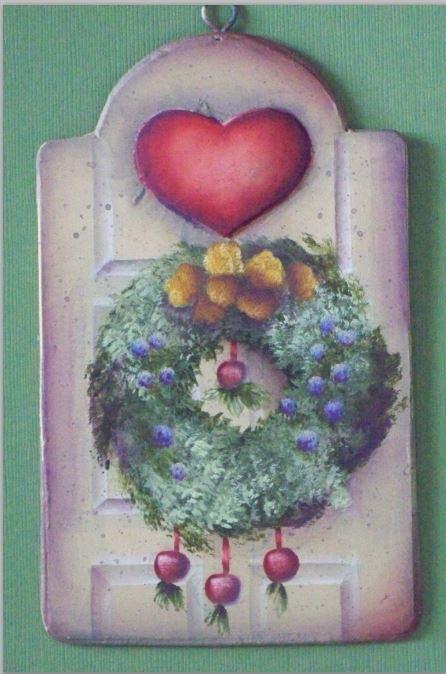 Williamsburg Apple Wreath - E-Packet - Barbara Franzreb-Bunsey