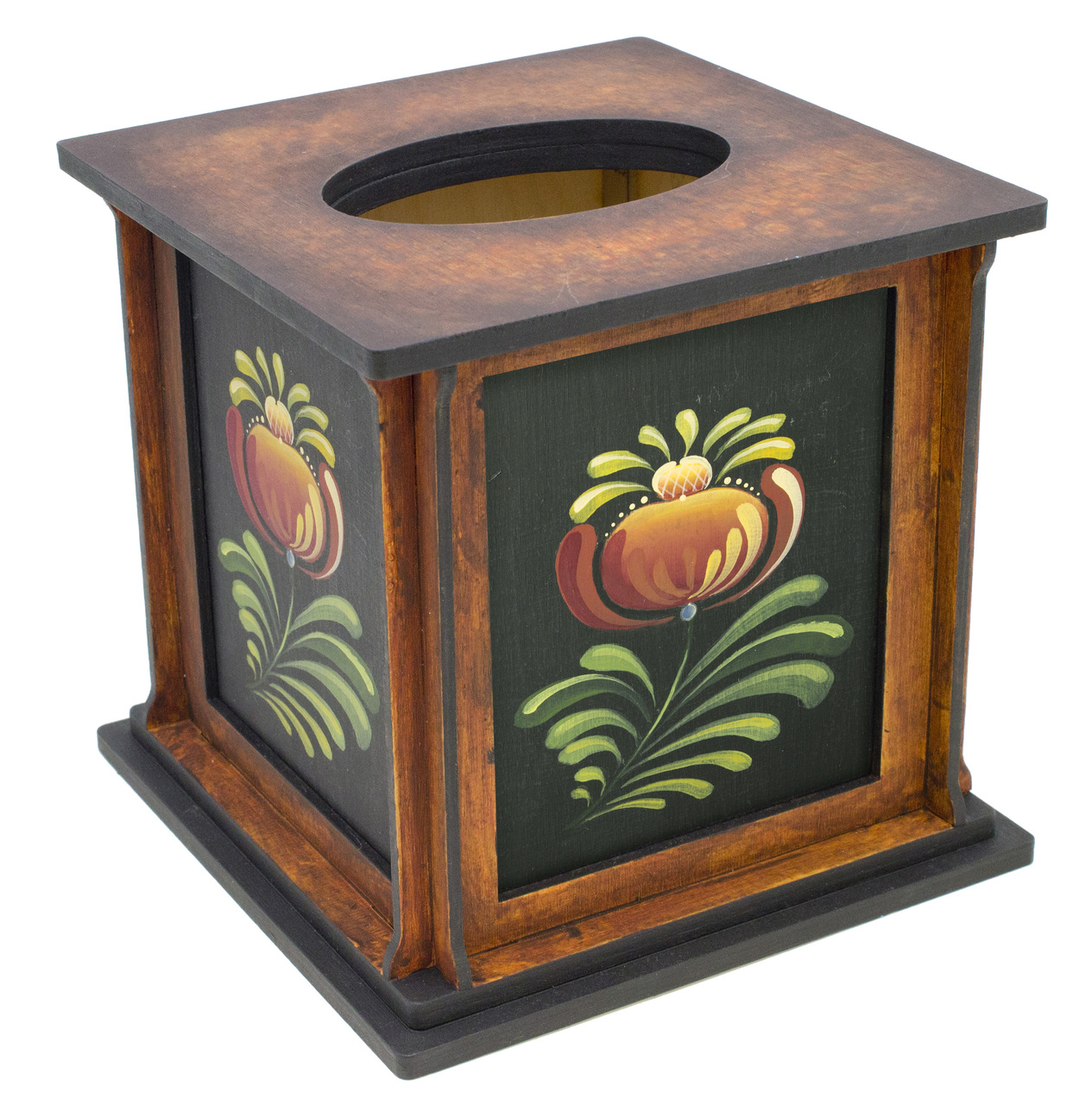 Folk Art Tissue Box - E-Packet - Barbara Franzreb-Bunsey