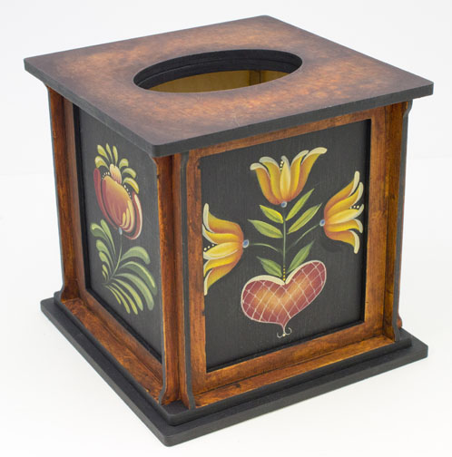 Four Seasons Tissue Box - E-Packet - Barbara Franzreb-Bunsey