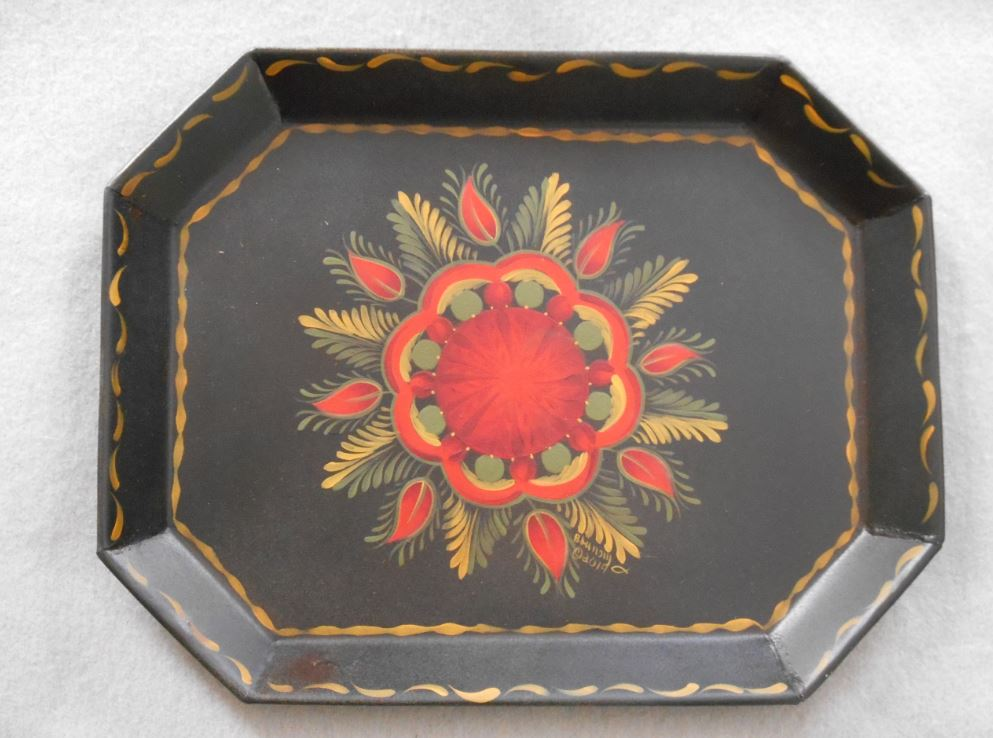 Chili Red Berlin Coffin Tray - E-Packet - Barbara Franzreb-Bunsey
