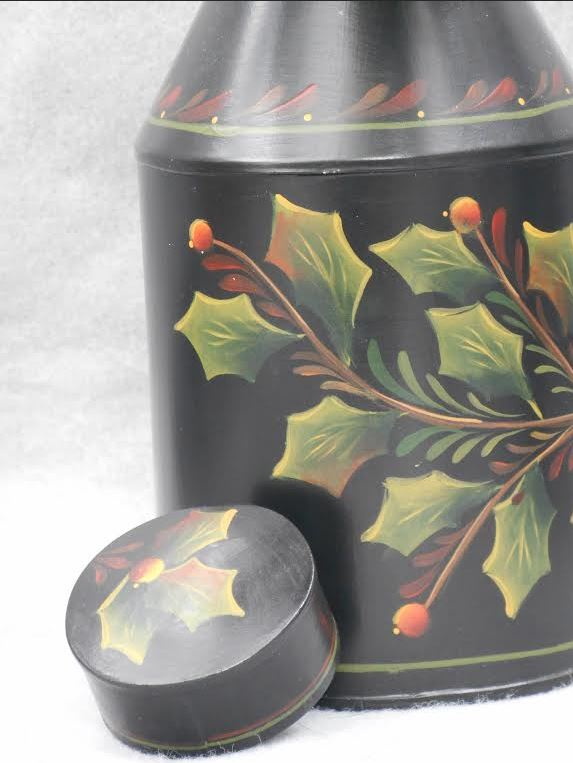 Christmas Tea Canister - E-Packet - Barbara Franzreb-Bunsey
