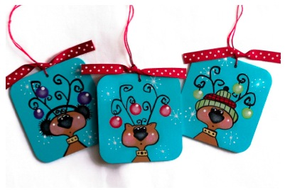 Festive Reindeer - E-Packet - Cheryl Nuccio