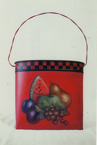 Rusty Tin Fruit Pocket - E-Packet - Donna Scully