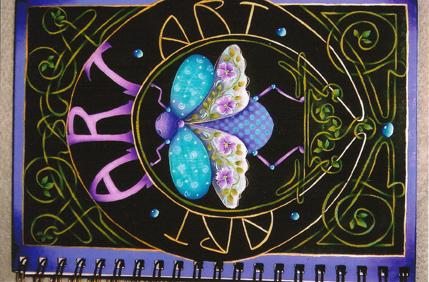Art Art Art Sketchbook - E-Packet - Juanita Denton