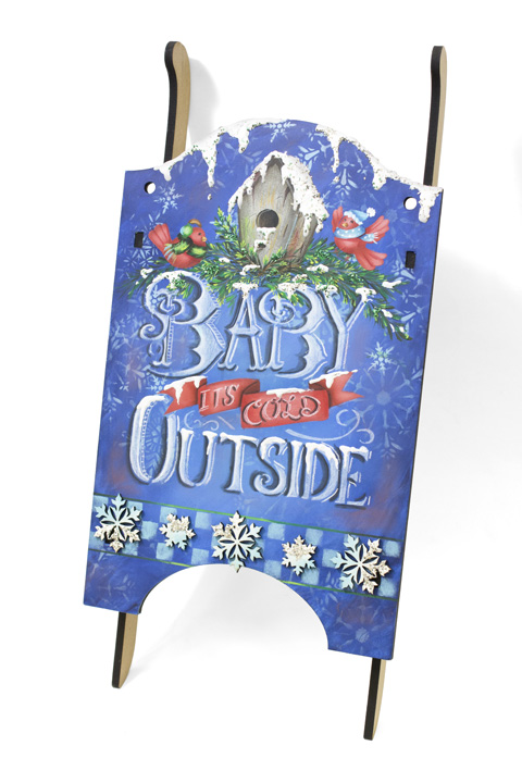 Baby Its Cold Outside Pattern Packet - Patricia Rawlinson