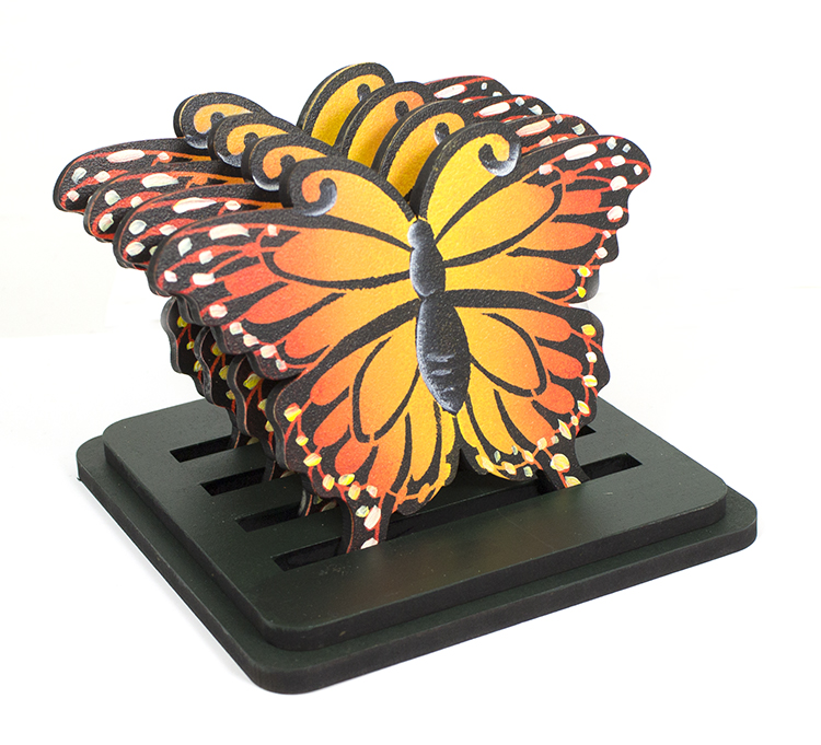 monarch butterfly coaster set pattern packet patricia rawlinson rh creativeartslifestyle com