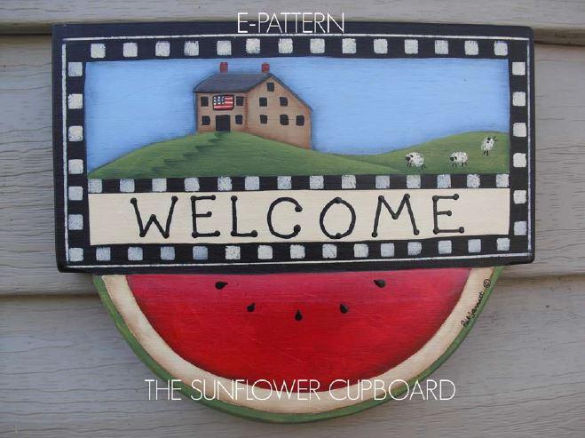 Watermelon Welcome - E-Packet - Pat Jarrett