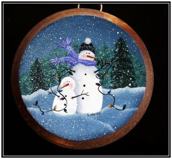 Tangled Snowman - E-Packet - Linda Samuels