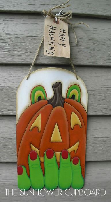 Ghost Pumpkin and Witch - E-Packet - Pat Jarrett