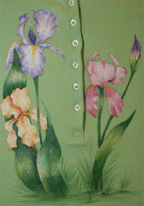 Shimmering Iris - E-Packet - Debra Welty