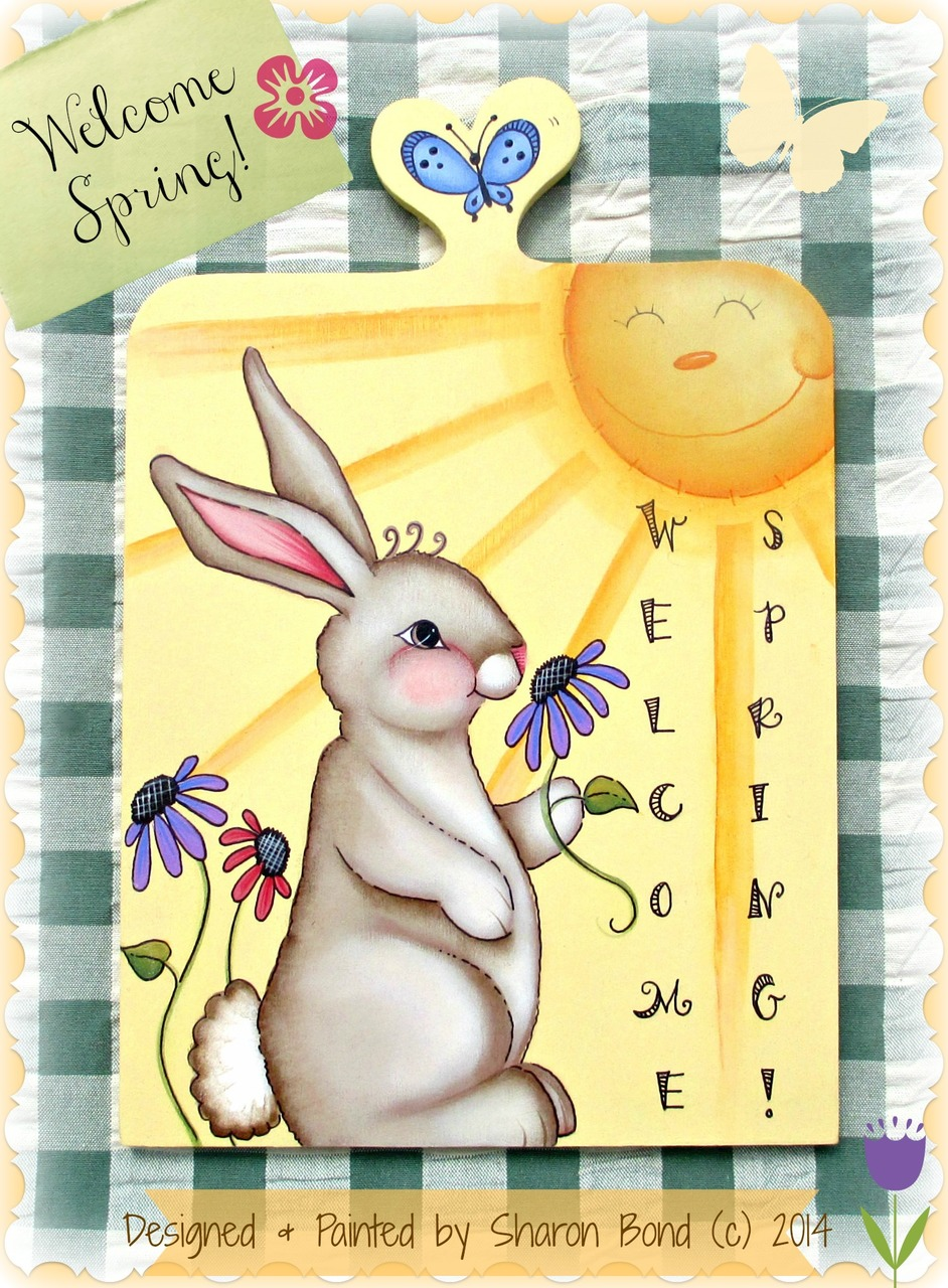 Welcome Spring - E-Packet - Sharon Bond