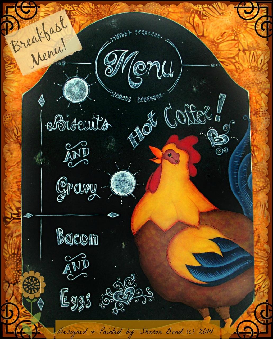 Breakfast Menu - E-Packet - Sharon Bond