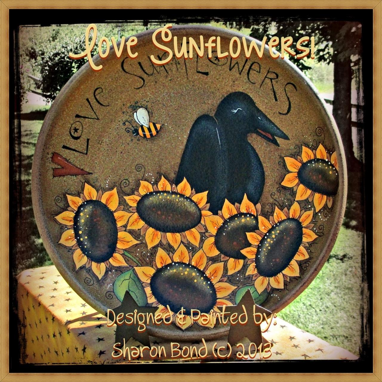 Love Sunflowers - E-Packet - Sharon Bond