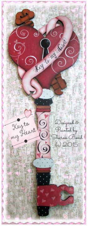 Key to My Heart - E-Packet - Sharon Bond