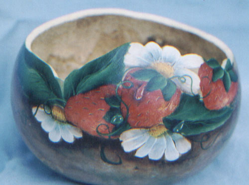 Strawberry Bowl - E-Packet - Debra Welty