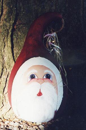 Santa Gourd - E-Packet - Debra Welty