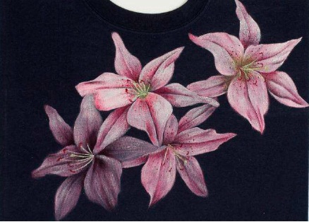 Pink Lilies - E-Packet - Debra Welty