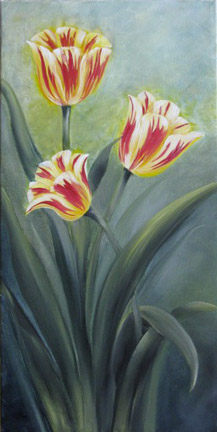 Tulips in Oils - E-Packet - Sandy McTier