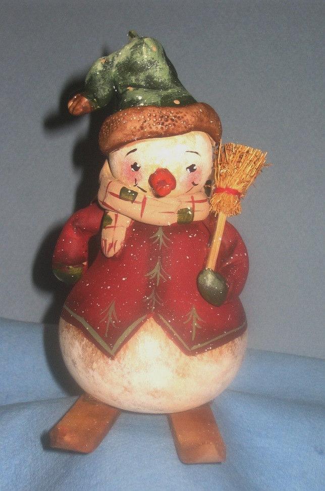 Snowman on Skis - E-Packet - Dottie Kuhl