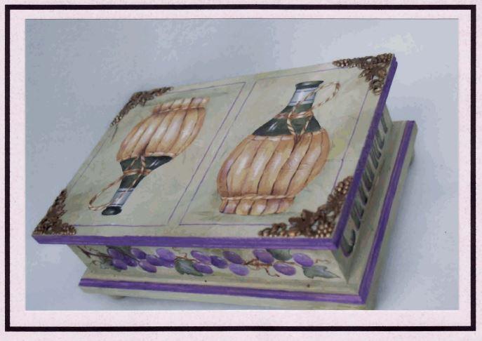 Chianti Card Box - E-Packet - Mary Jo Gross