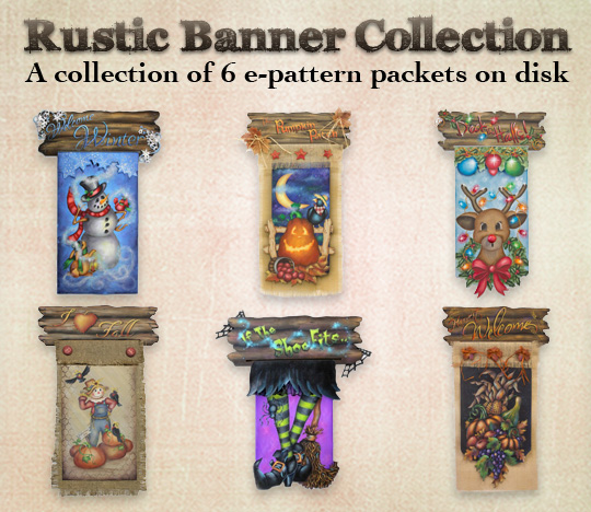 Rustic Banner Pattern Collection