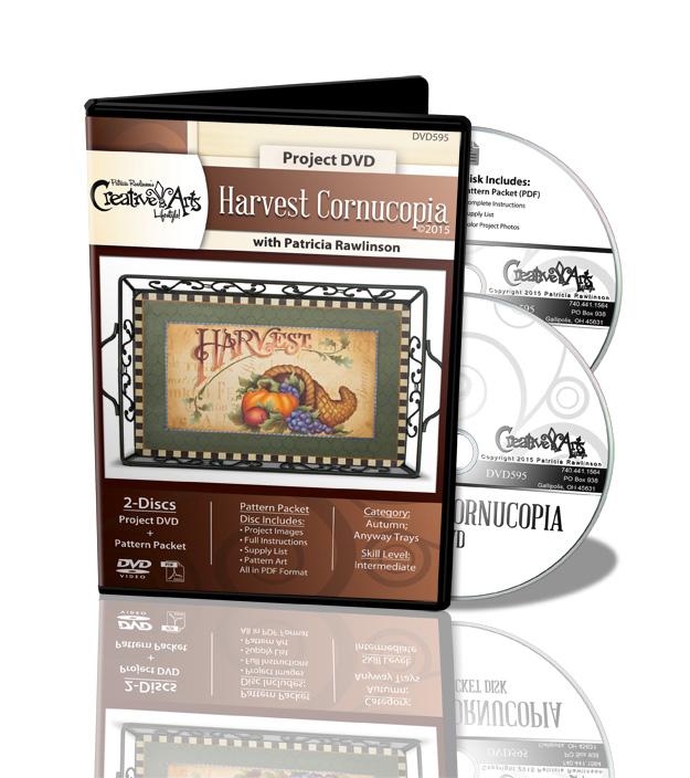 Harvest Cornucopia DVD by Patricia Rawlinson