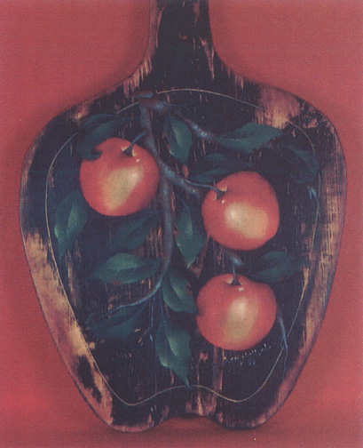 Red Delicious Antique Apple Board - E-Packet - Bobbie Campbell