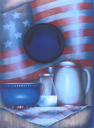 Americana Tray - E-Packet - Bobbie Campbell