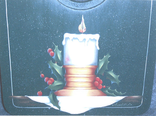 Glowing Holidays Tray - E-Packet - Bobbie Campbell