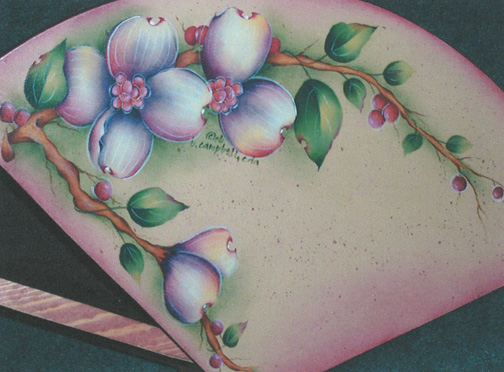 Delicate Dogwood Jewelry Box - E-Packet - Bobbie Campbell
