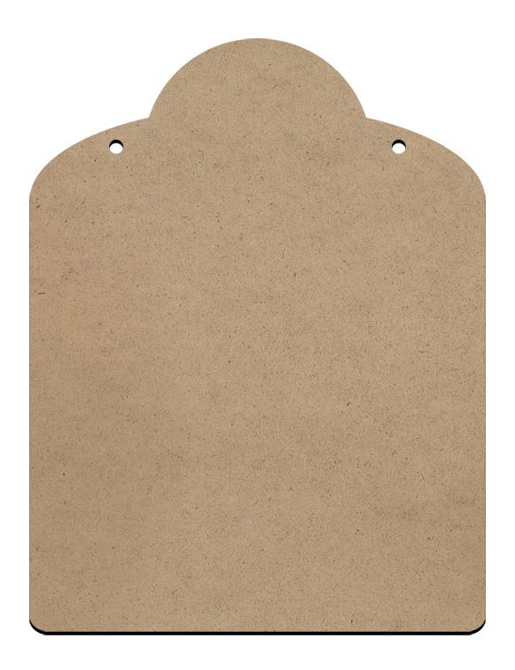 """Cafe Sign Surface - Medium - 8"""" x 10 1/2"""""""