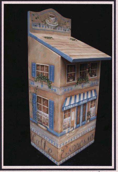 Espresso Shop Bag Holder - E-Packet - Mary Jo Gross