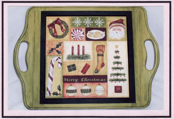 Serving Tray - Christmas - E-Packet - Mary Jo Gross