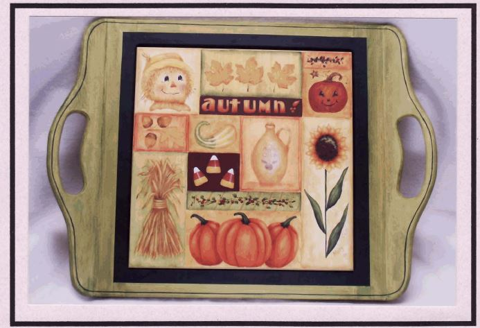 Serving Tray - Fall - E-Packet - Mary Jo Gross