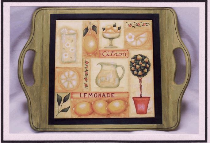 Serving Tray - Lemonade - E-Packet - Mary Jo Gross
