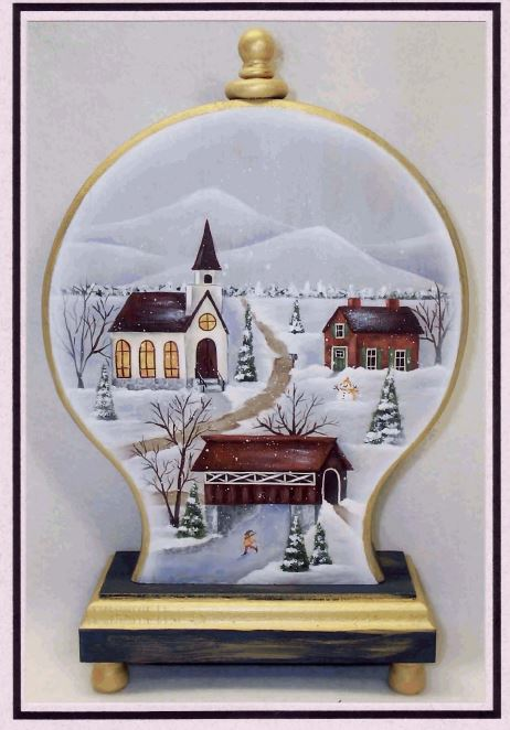 Snow Globe - E-Packet - Mary Jo Gross