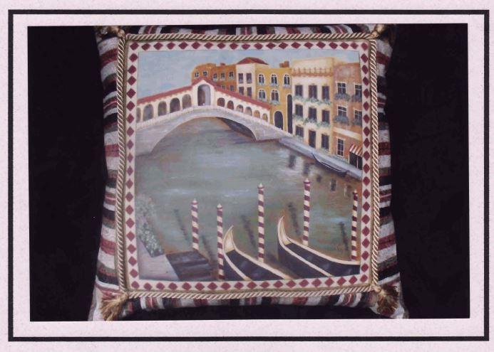 Venice Pillow - E-Packet - Mary Jo Gross