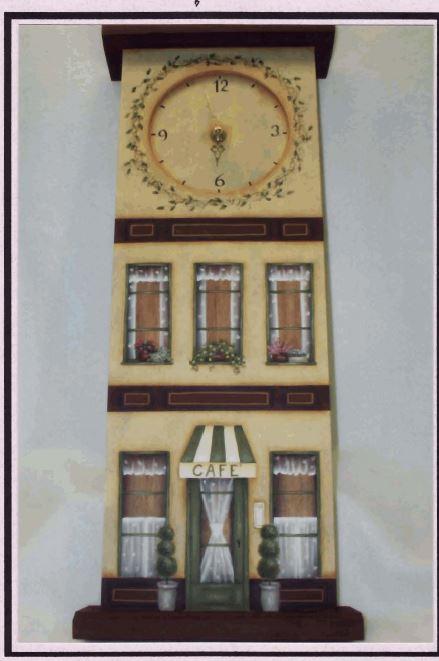 Tall Clock Caffe' - E-Packet - Mary Jo Gross