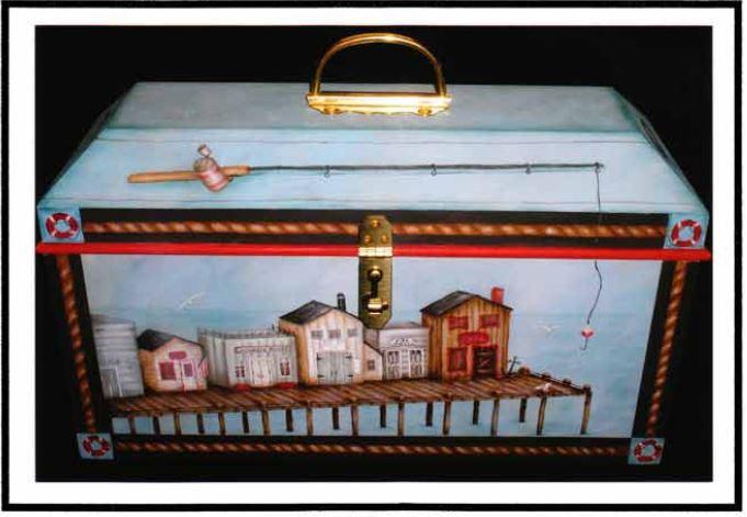 Fishing Tackle Box - E-Packet - Mary Jo Gross