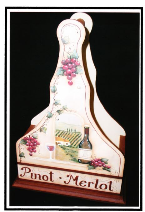 Double Wine Carrier - E-Packet - Mary Jo Gross