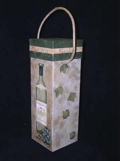 Wine Bottle Carrier - E-Packet - Mary Jo Gross