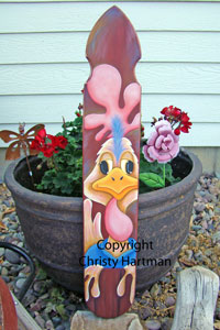Chicken Little Picket - E-Packets - Christy Hartman