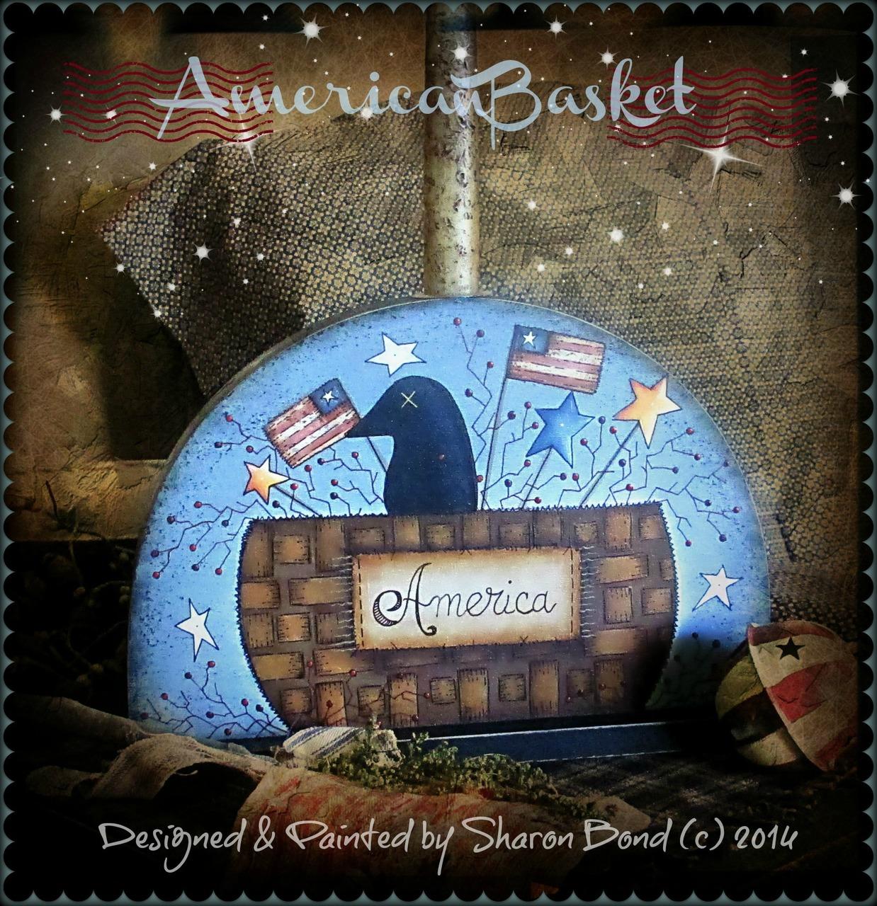American Basket - E-Packet - Sharon Bond
