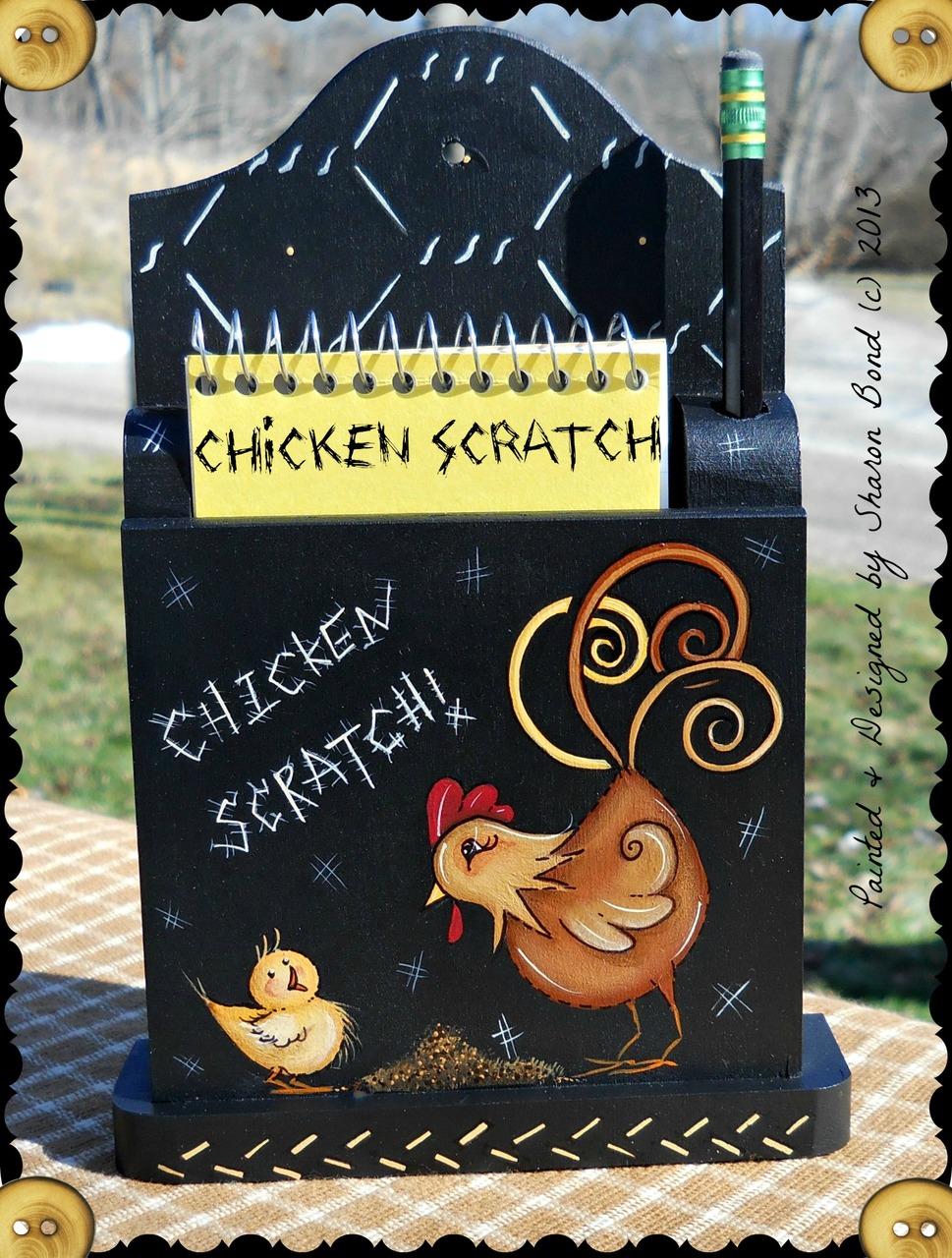 Chicken Scratch - E-Packet - Sharon Bond