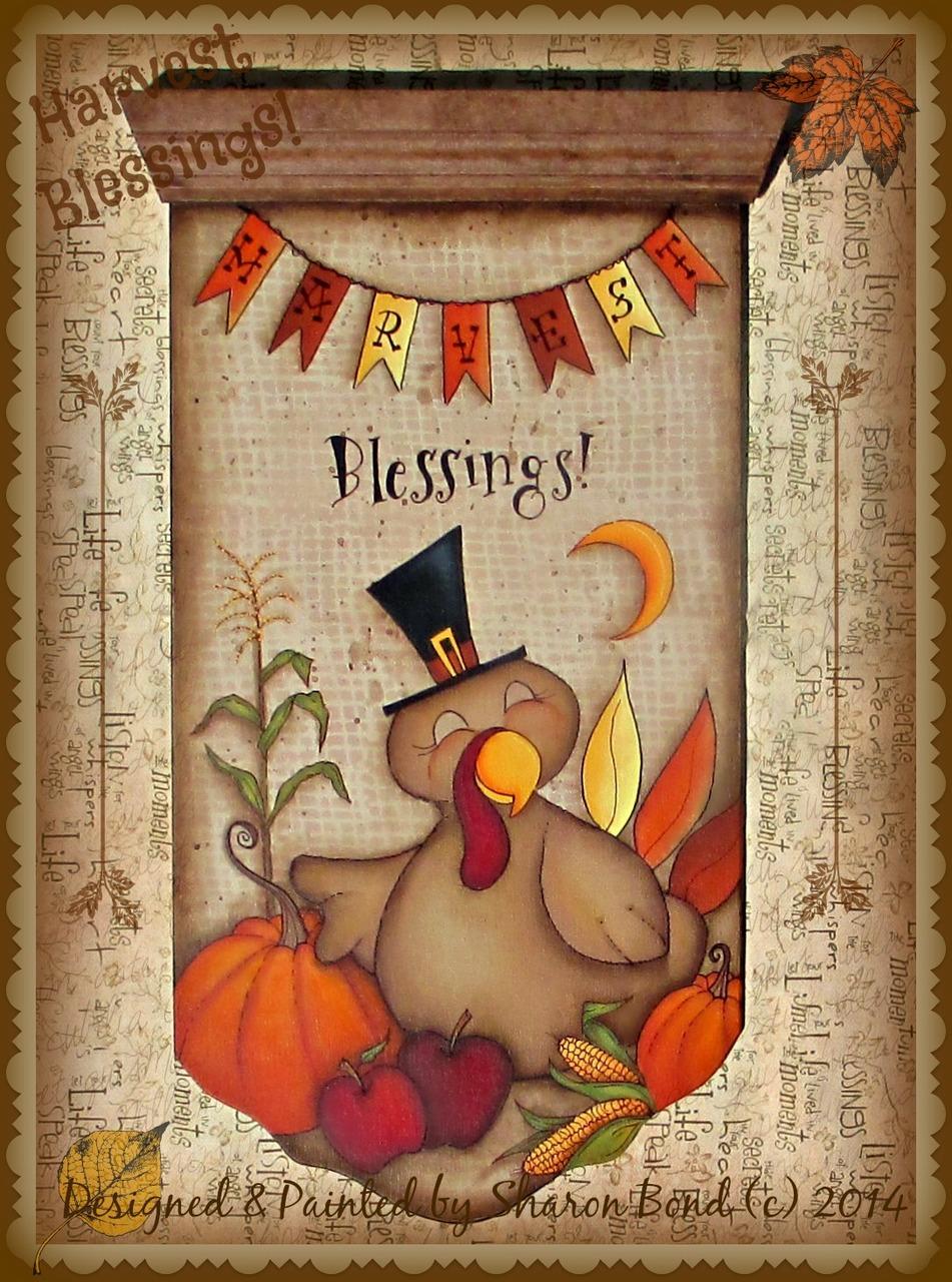 Harvest Blessings! - E-Packet - Sharon Bond