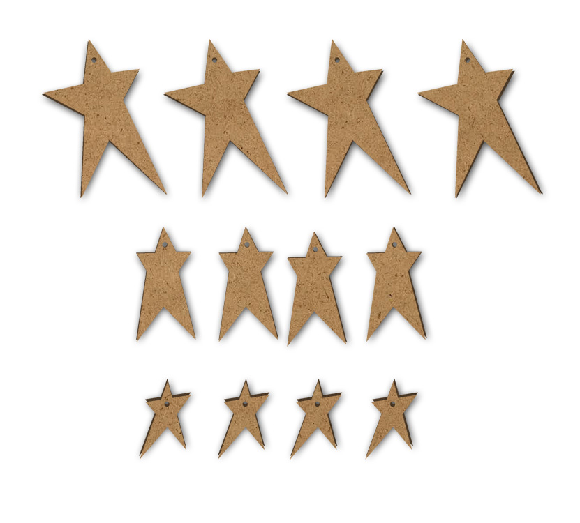 Primitive Stars - Set of 12