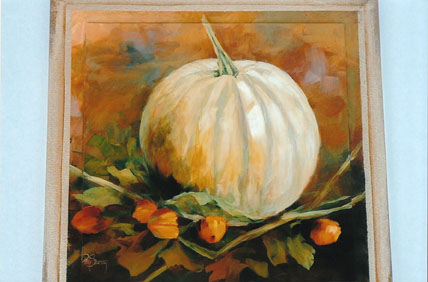White Pumpkin - E-Packet - Patty Stouffer
