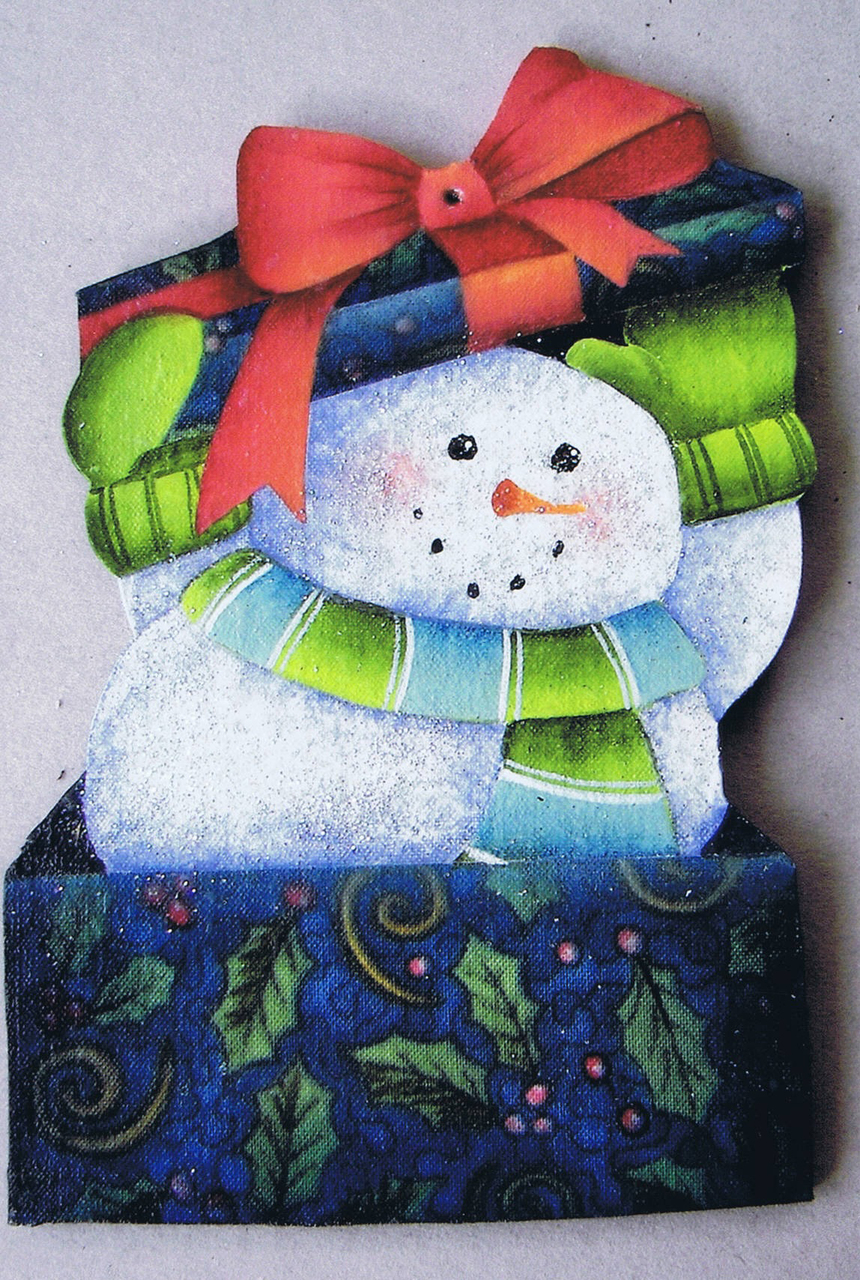 Snowman Surprise - E-Packet - Ruth Veley