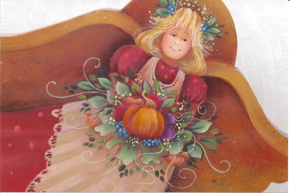 Autumn Harvest Angel - E-Packet - Yvonne Kresal