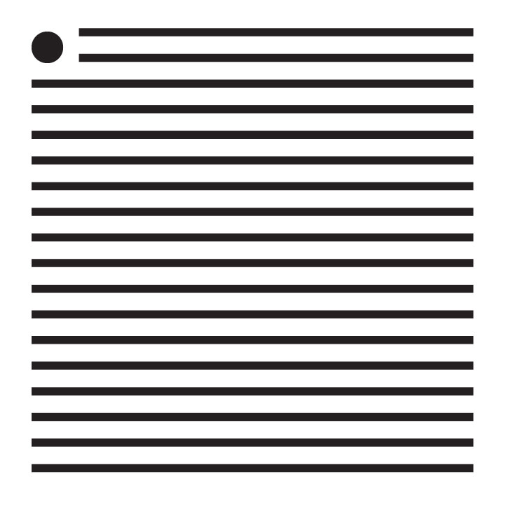 """1/16"""" Thin Stripes Mini Pattern Stencil - 4"""" x 4"""""""